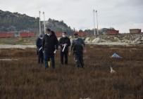 Burdur Gölü'ndeki Gaz Çıkışları İncelendi Açıklaması 'Yer Altı Suyu Boşalımı Olabilir'