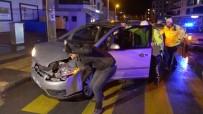 Polis Otomobili İtti, Çekici Görevlisi El Salladı