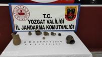 Yozgat'ta Farklı Dönemlere Ait 30 Parça Tarihi Eser Ele Geçirildi