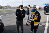 Aksaray'da Covid-19 Testi Pozitif Ve Temaslı 2 Kardeş Seyahatte Yakalandı