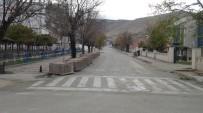 Gercüş İlçesinde Sokaklar Boş Kaldı