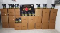 Kırıkkale'de 1 Ton 100 Kilogram Kaçak Tütün Ele Geçirildi