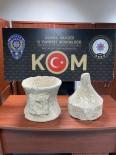 Adana'da 2 Taş Eser Ele Geçirildi