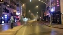 Konya, Afyonkarahisar, Karaman Ve Aksaray'da Sokağa Çıkma Kısıtlamasının Başlamasıyla Sokaklar Boşaldı