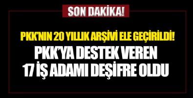 PKK'nın 20 yıllık arşivi ele geçirildi!