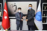 Yazar Özyurt Rektör  Karacoşkun'la Bir Araya Geldi