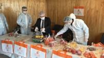 Bucak'ta Karantinadaki Vatandaşlara Vitamin Destek Paketi