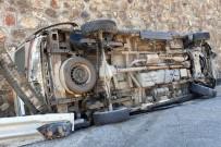 Gümüşhane'de Ambulans Kaza Yaptı Açıklaması 2 Sağlıkçı Yaralandı