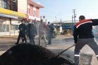 Kırıkkale Belediyesi Kısıtlamada Da Çalışmalarını Sürdürdü
