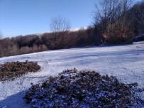 Amasya'nın Yükseklerinde Kar Yağışı