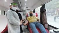 Burhaniyeli Vatandaşlar Pandemi Sürecinde De Kan Bağışında Öncü Oldu