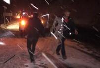 Otomobil Uçurumdan Yuvarlandı Açıklaması 1 Yaralı