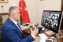 Rektör Şahin'den Online Konferans