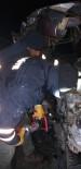 Ağrı'da Trafik Kazası Açıklaması 1 Ölü, 1 Yaralı