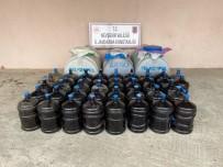 Avanos'ta 2 Ton Kaçak İçki Ele Geçirildi