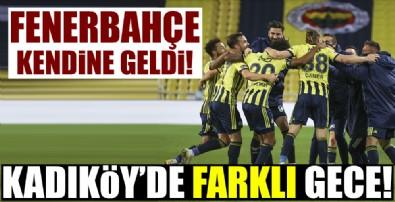 Fenerbahçe farka gitti!
