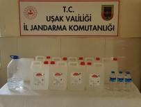 Uşak'ta Sahte Alkol Operasyonu