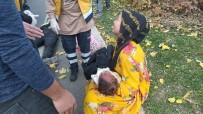 Vücudu Yanan Çocuk Hastaneye Götürülürken Kaza Geçirdi