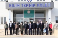 ASÜ Rektörü Şahin Bilim Teknik Kolejinde
