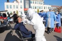 Eğirdir Kaymakamlığı Çalışanları Covid-19 Testinden Geçti
