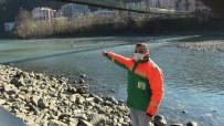 Karacayı Kurtarmak İçin Çoruh Nehrine Atlayan Belediye Çalışanı Yaşadığı O Anları Anlattı