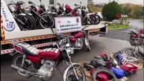Şanlıurfa'da Motosiklet Hırsızlığı Şebekesine Operasyon Açıklaması 6 Gözaltı