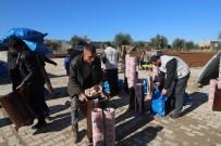 Suriyelilere Yakacak Yardımı