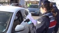 43 İlin Geçiş Noktasında Polis Ve Jandarmadan Ortak Korona Virüs Denetimi