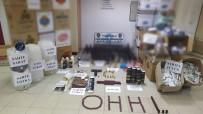 Turgutlu Polisinden 'Ohh' İsimli Kaçak İçki Operasyonu