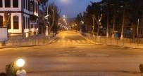 Çankırı'da Cadde Ve Sokaklar Sessiz Kaldı