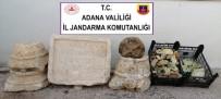 Adana'da Roma Dönemine Ait Tarihi Eserler Ele Geçirildi