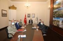 Kars'ta Video-Konferansla Genel Asayiş Toplantısı Yapıldı