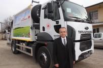 Tosya'ya Yüksek Kapasiteli Yeni Çöp Aracı