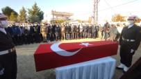Afrin'de Şehit Olan Asker Son Yolculuğuna Uğurlandı
