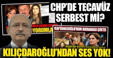 CHP'de tecavüz serbest mi? Kılıçdaroğlu'ndan ses yok!