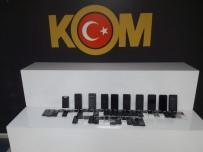Aksaray'da Kaçak Cep Telefonu Operasyonu Açıklaması 4 Gözaltı