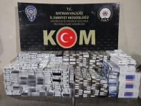 Batman'da 2 Bin 650 Paket Kaçak Sigara Ele Geçirildi