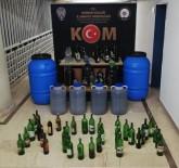 Burdur'da 380 Litre Kaçak İçki Ele Geçirildi