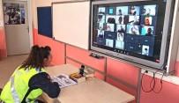 Çanakkale Jandarma Ekiplerinden Online Trafik Güvenliği Eğitimi