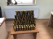 Eğirdir'de 63 Kutu Kaçak İçki Ele Geçirildi
