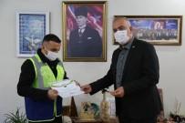 Karacayı Kurtarmak İçin Çoruh Nehrine Atlayan Belediye Çalışanı Tam Altınla Ödüllendirildi