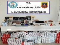 Susurluk'ta Kaçak Tütün Operasyonu