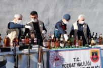 Yozgat'ta 310 Litre Sahte İçki Ele Geçirildi