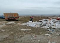 Araziye İnşaat Artığı Molozları Dökerken Jandarma Yakaladı
