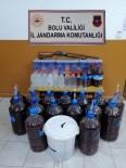 Bolu'da 375 Litre Sahte Alkollü İçki Ele Geçirildi