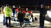 Burhaniye'de Meydana Gelen Kazada Motosiklet Sürücüsü Yaralandı