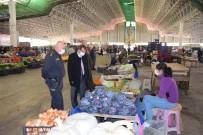 Çan Kaymakamı Gürdal'dan Pazar Yeri Denetimi