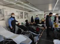 Cizre Polisinden Kan Bağışı Kampanyasına Destek