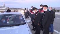 Jandarma Genel Komutan Yardımcısı Koç'tan Yılbaşı Öncesi Yol Denetimi