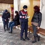 Jandarma Kapı Kapı Dolaşıp KADES'i Tanıttı